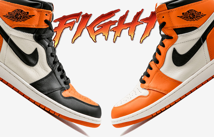 Air Jordan 1 Battle Between Shattered BackBoard And Reversed Shattered BackBoard ft