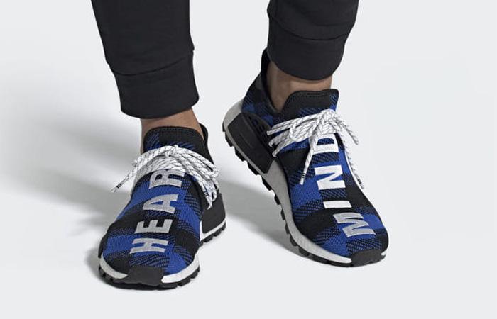separation shoes 64b16 a1e7c BBC adidas NMD Hu Blue Green EF7387