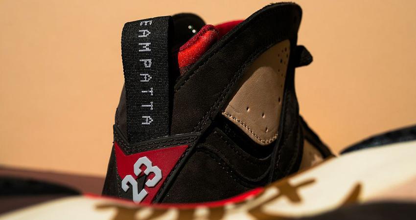 Closer Look At The Patta Air Jordan 7 Mahogany 04