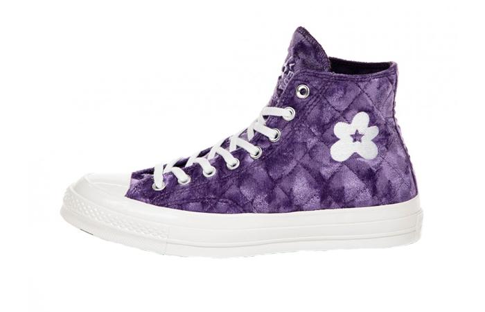 Converse Golf Le Fleur Chuck 70 Hi Purple 165600C 01