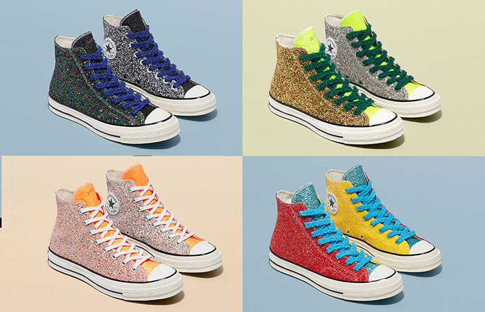 Converse & JW Anderson Returning With New Glitter Pack ft