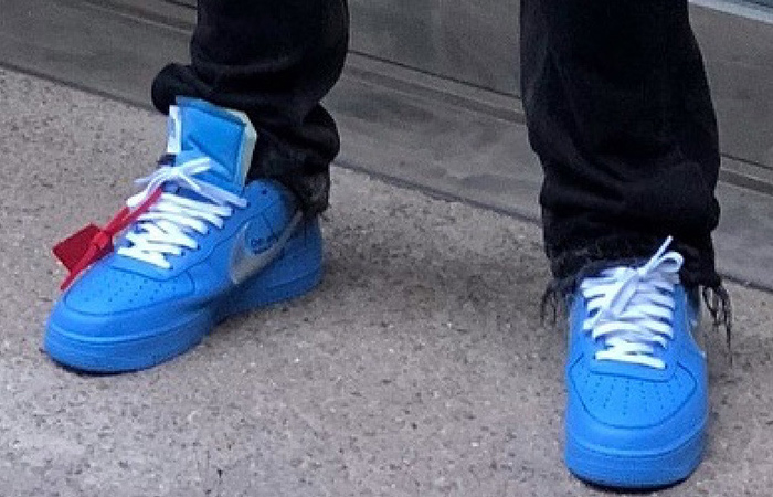 Have A Look At The Off-White Nike Air Force 1 University Blue ft