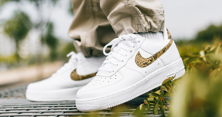 Nike Air Force 1 Is Releasing With An 'Ivory Snake' Getup 01