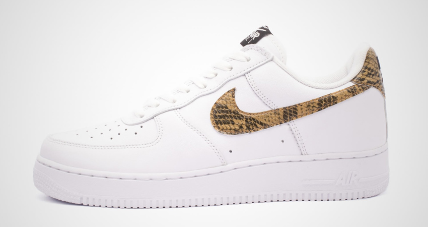 Nike Air Force 1 Is Releasing With An 'Ivory Snake' Getup 03