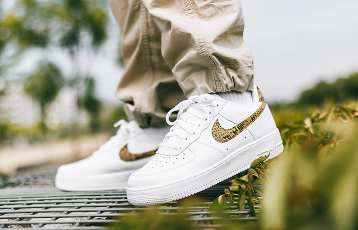 Nike Air Force 1 Is Releasing With An 'Ivory Snake' Getup ft