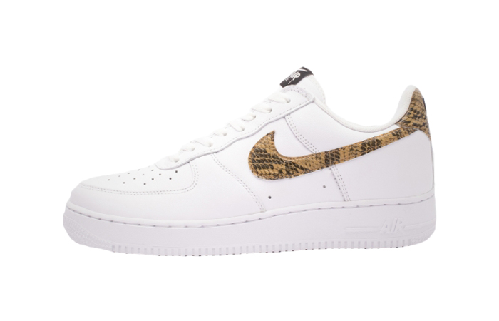 Nike Air Force 1 Low Premium QS Ivory Snake AO1635-100 01