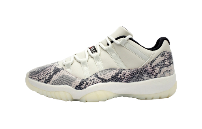 Nike Air Jordan 11 Retro Low Snakeskin Light Bone CD6846-002 01