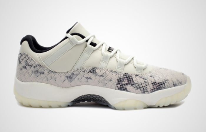 Nike Air Jordan 11 Retro Low Snakeskin Light Bone CD6846-002 02
