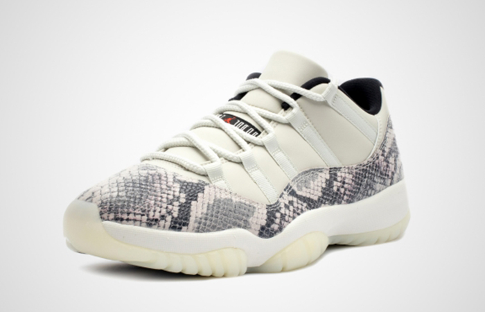 Nike Air Jordan 11 Retro Low Snakeskin Light Bone CD6846-002 03