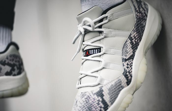 Nike Air Jordan 11 Retro Snakeskin Light Bone CD6846-002