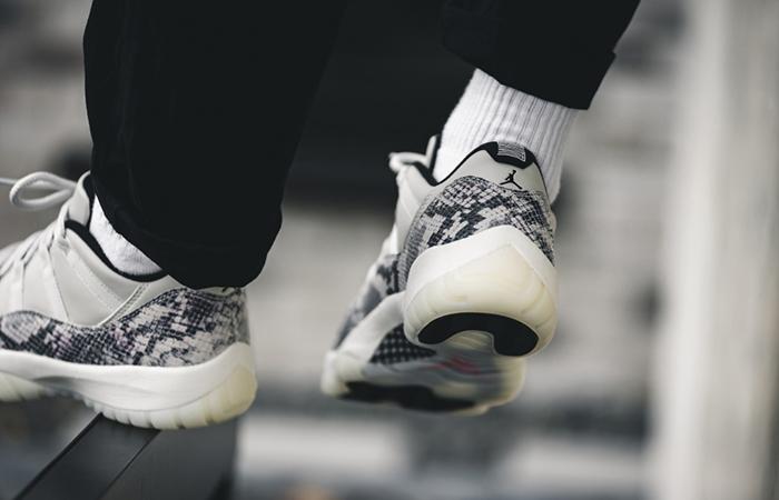Nike Air Jordan 11 Snakeskin Light Bone CD6846-002