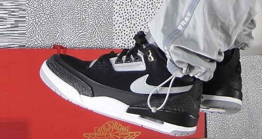 c3dd4caf669 Nike Air Jordan 3 Tinker Black Cement Releasing In August – Fastsole