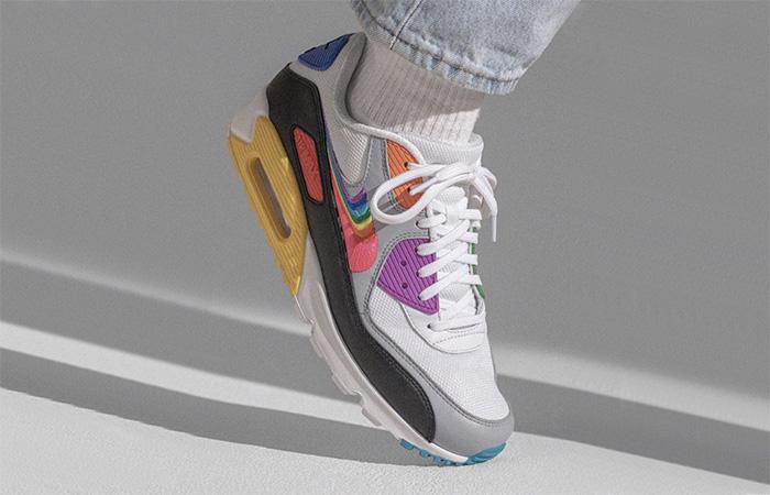 Nike Air Max 90 Be True CJ5482-100 on foot 1