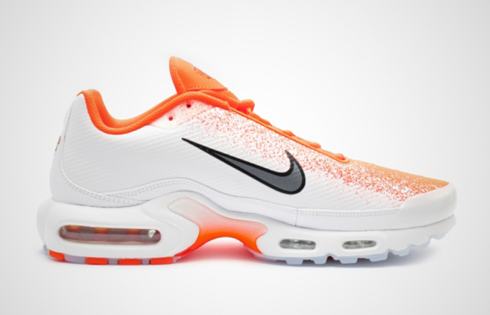 premium selection 804a3 fb482 Nike Air Max Plus White Orange CI7701-800