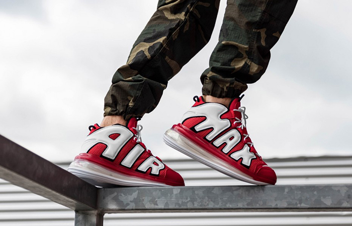 Nike Air More Uptempo 720 Red CJ3662-600