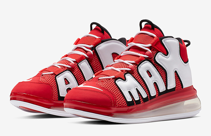 Nike Air More Uptempo 720 University Red CJ3662-600