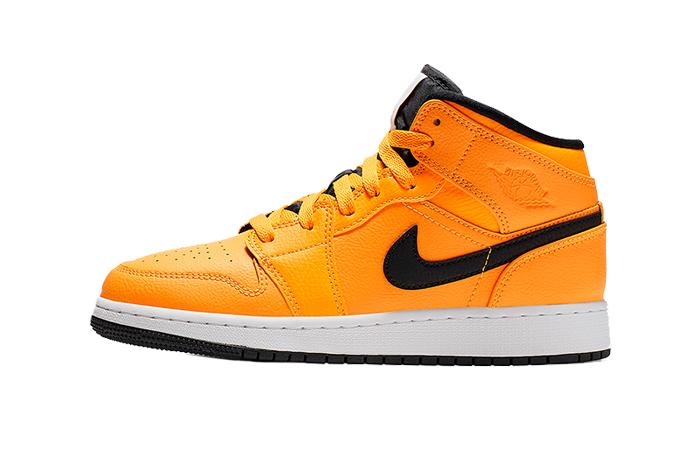 Nike Jordan 1 Mid Gold Black 554724-700 01