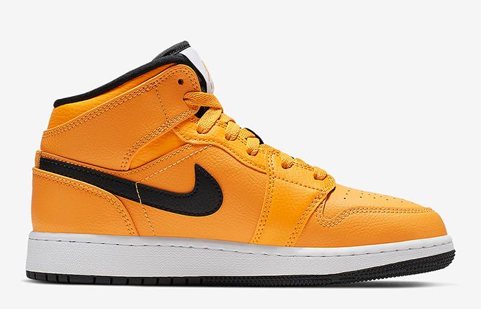 Nike Jordan 1 Mid Gold Black 554724-700 03
