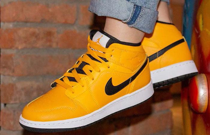 Nike Jordan Gold Black 554724-700