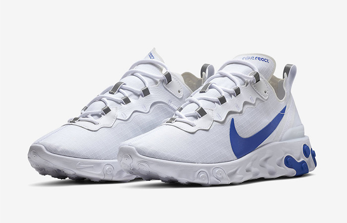 Nike React Element 55 SE SU19 Blue White BQ6167-100 02