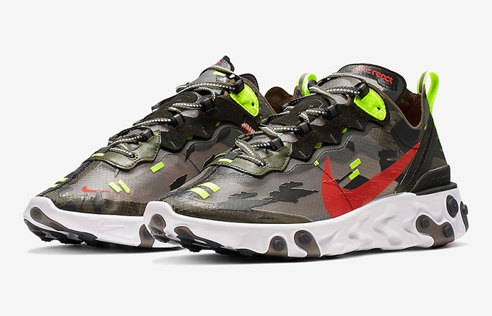 Nike React Element 87 Black CJ4988-200 03