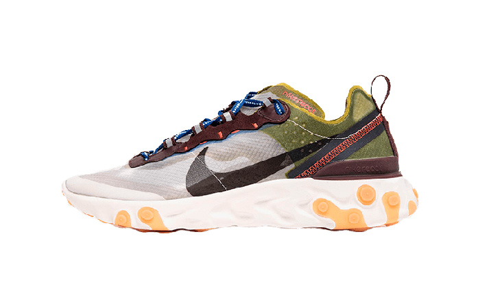 Nike React Element 87 Moss AQ1090-300 01