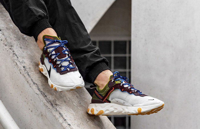 Nike React Element 87 Moss AQ1090-300 02