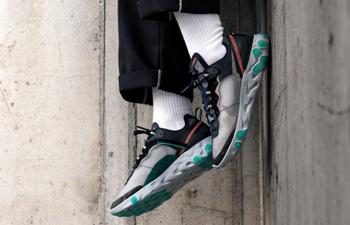 meet 23584 87495 ... Nike React Element 87 Neptune Green AQ1090-005 ...