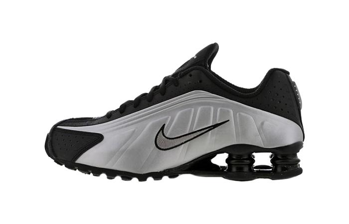 Nike Shox R4 Metallic Silver 104265-045 01