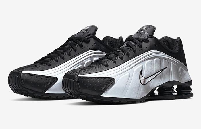 Nike Shox R4 Metallic Silver 104265-045 03