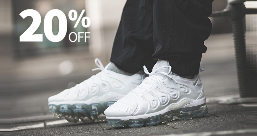 NikeUK Offering You 20% Off At Vapormax Plus 01