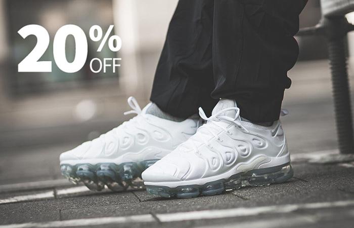 NikeUK Offering You 20% Off At Vapormax Plus ft
