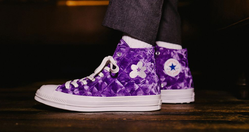 On-Feet Look Of Converse GOLF le FLEUR Chuck 70 Hi Velvet Pack 04
