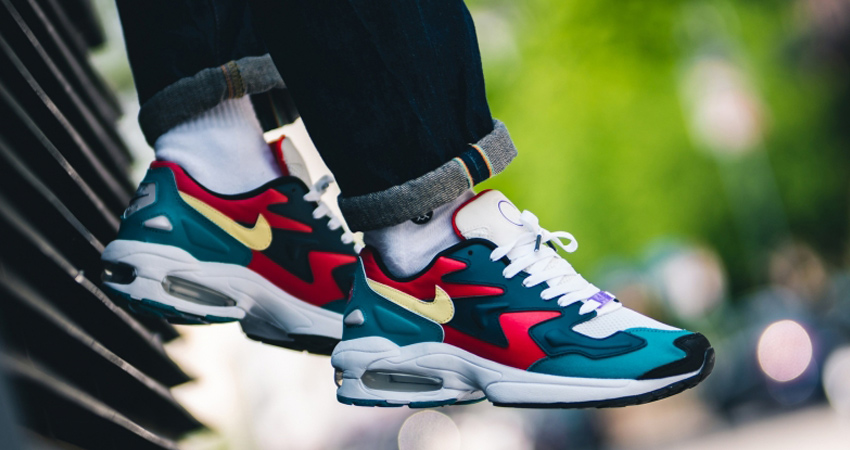 On Foot Look At The Nike Air Max 2 Light Pack – Fastsole