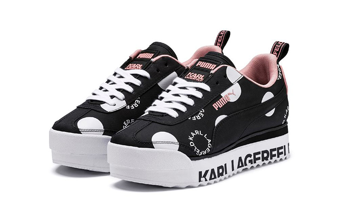 PUMA And Karl Lagerfeld Collaborated Themselves For Coming Posthumous Polka Dot Roma Release ft