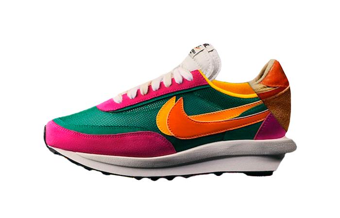 Sacai Nike LDV Waffle Green Pink BV0073-301 01