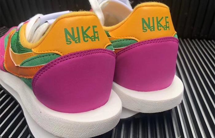 Sacai Nike LDV Waffle Green Pink BV0073-301 04