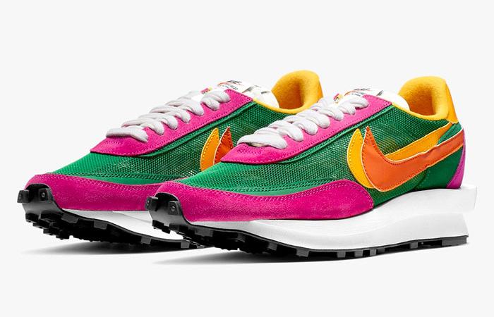 Sacai Nike LDV Waffle Green Pink BV0073-301 05