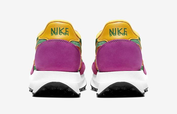 Sacai Nike LDV Waffle Green Pink BV0073-301 07