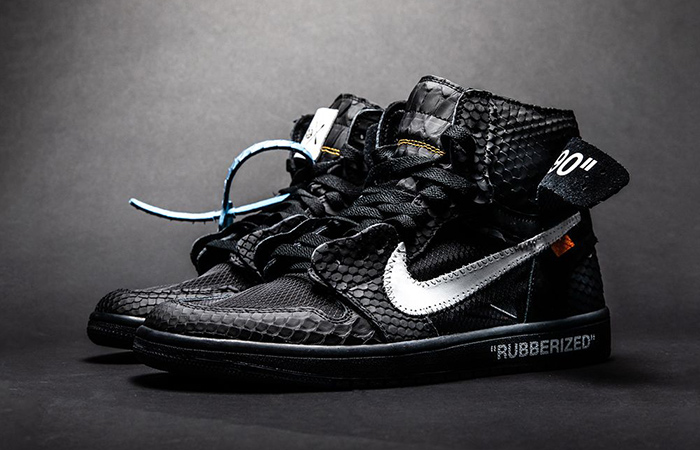 Take A Look At The Air Jordan 1 in Lux Rubberized Python ft
