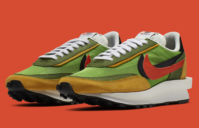 Take A Look At The Sacai's Nike LDWaffle Hybrid Pack ft