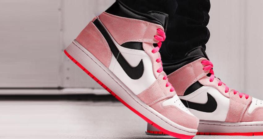 Fastsole Hyper – 1 Mid Live Jordan The Pink At Footasylum Rj35L4A