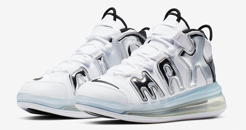 The Nike Air More Uptempo 720 QS Coming With A Chrome Look 01