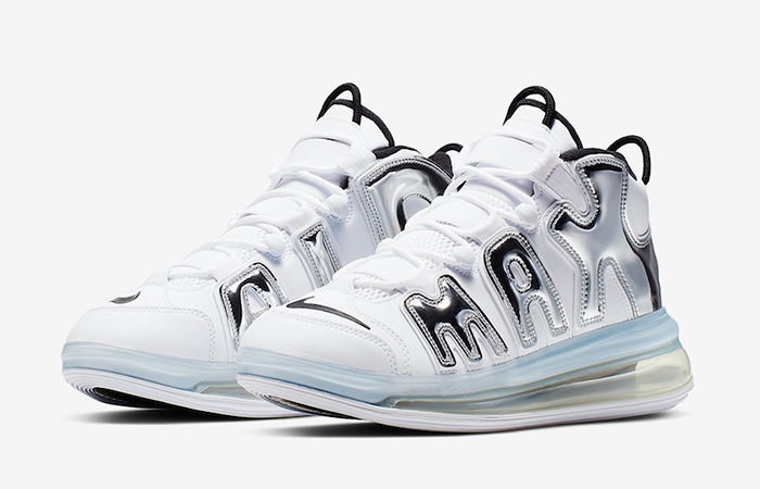 The Nike Air More Uptempo 720 QS Coming With A Chrome Look ft