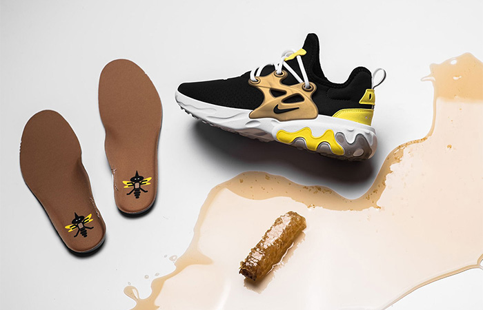 The Nike Presto React Is Coming In a Brutal Honey Look ft