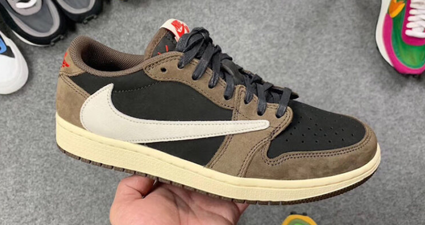 c9d06e077b3e1 The images Just Published Of The Travis Scott Nike Air Force 1 Low ...
