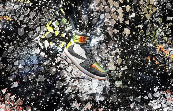Travis Scott's Air Jordan 1 Comes With Shattered Backboard Theme ft