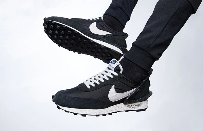 Undercover Nike Daybreak Black BV4594-001 on foot 01