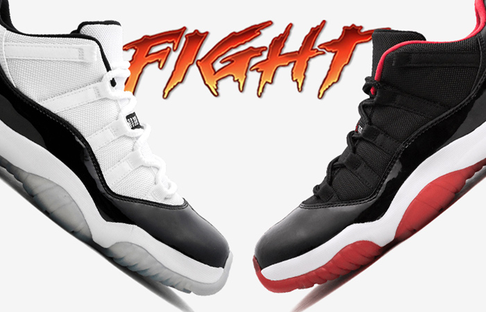 c77d65406a Which You Think Is Better Between Air Jordan 11 Low Concord And Bred –  Fastsole