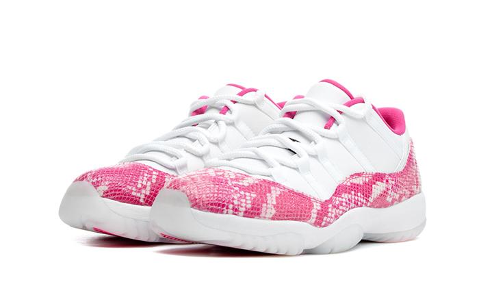 Womens Air Jordan 11 Low Pink AH7860-106